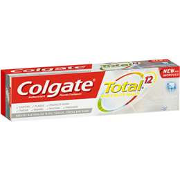 Colgate Total Advanced Clean Fluoride Toothpaste 115g