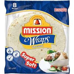 Mission Wraps Original 8 pack