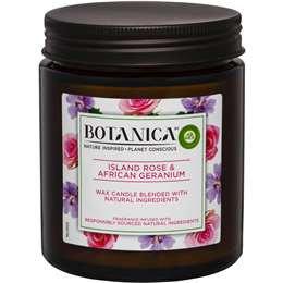 Air Wick Botanica Island Rose & African Geranium Scented Candle each