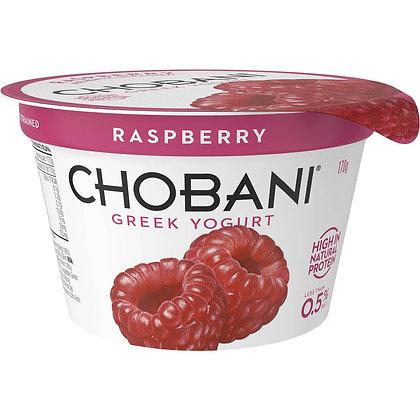 Chobani No Fat Raspberry Yoghurt 170g