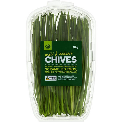 Woolworths Chives Fresh Herb 10g punnet