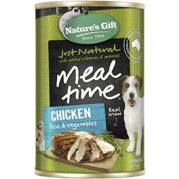 Nature's Gift Adult Dog Food Chicken Rice & Vegetable 700g