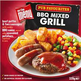 On The Menu Mixed Grill 320g