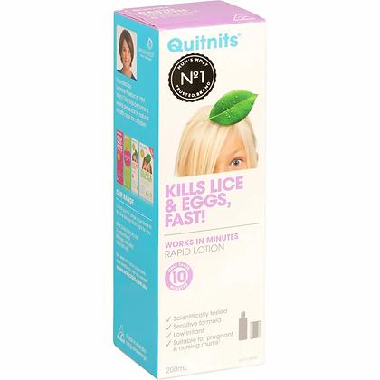 Quitnits Head Lice Treatment Rapid 200ml