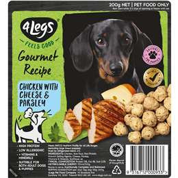 4 Legs Gourmet Chicken With Cheese & Parsley 200g