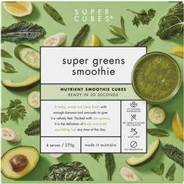 Super Cubes Super Greens Smoothie 270g