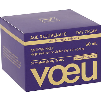 Voeu Age Regenerate Anti-ageing Day Moisturiser 50ml