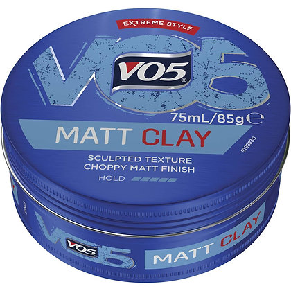 Vo5 Extreme Style Clay Paste Matt Finish For Definition 85g
