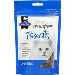 Vip Fussy Cat Grain Free Liver Bites Cat Treats 100g