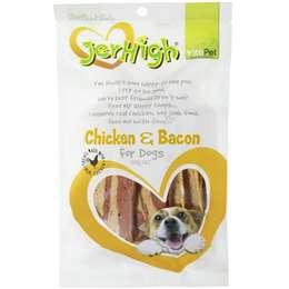 Vitapet Jerhigh Treat Real Chicken Bacon 100g