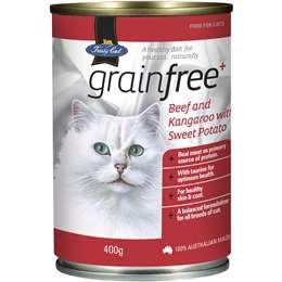 Fussy Cat Grain Free Beef & Kangaroo 400g