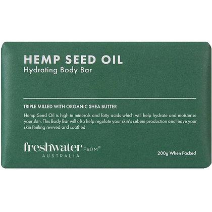 Freshwater Farm Australia Hemp Seed Oil Hydrating Body Bar 200g