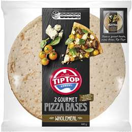 Tip Top Pizza Bases Wholemeal 12 Inch 2 pack