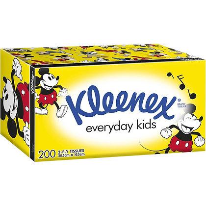 Kleenex Facial Tissue Kids 200 pack