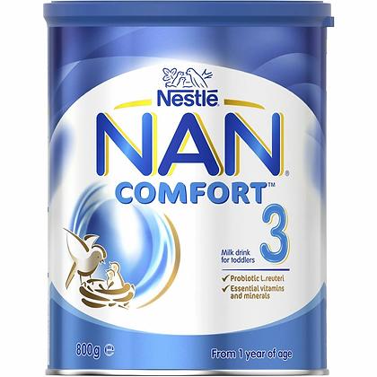 Nestle Nan Comfort 3 Toddler 12+ Months Milk Formula Powder 800g