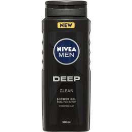 Nivea Men Deep Shower Gel 500ml