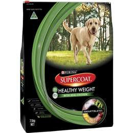 Supercoat Adult Dog Food Healthy Weight 7.5kg