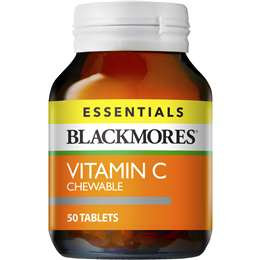 Blackmores Vitamin C 500mg Tablets 50 pack