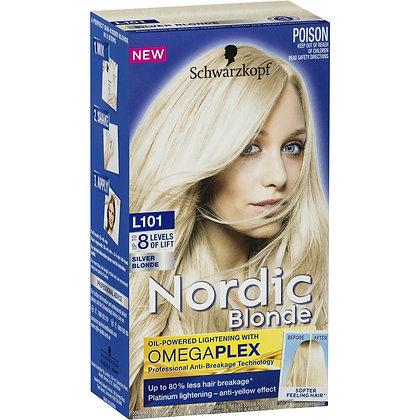 Schwarzkopf Nordic Blonde L101 Silver Blonde each