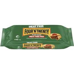 Four'n Twenty Meat Free Pie 4 pack