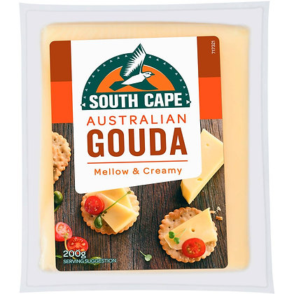 South Cape Cheese Gouda 200g