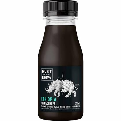 Hunt And Brew Ethiopia Black Coffee 250ml