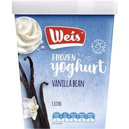 Weis Vanilla Bean Frozen Yoghurt 1l