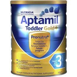 Aptamil Gold+ Toddler Formula Stage 3 12 Months+ 900g