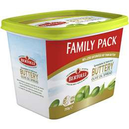 Bertolli Buttery Olive Oil Spread Family Pack 750g