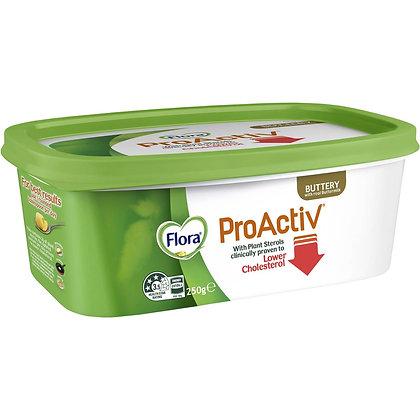 Flora Proactiv Margarine Buttery 250g