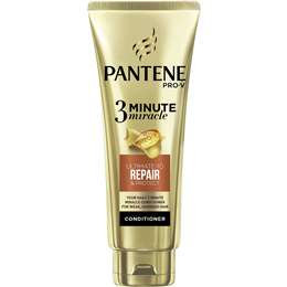 Pantene 3 Minute Miracle Conditioner Renew & Protect 180ml