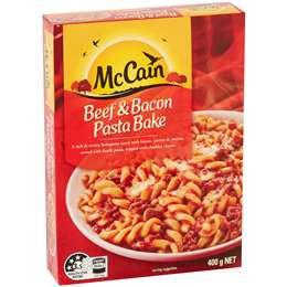 Mccain Beef & Bacon Pasta Bake 400g
