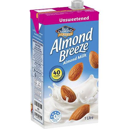 Almond Breeze Unsweetened Almond Milk 1l
