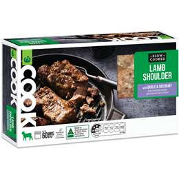 Cook Lamb Shoulder With Garlic & Rosemary 800g - 1.35kg