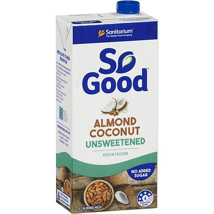 Sanitarium So Good Long Life Unsweetened Almond Coconut Milk 1l