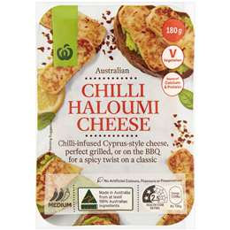Chilli Haloumi Cheese 180g