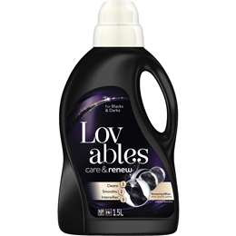 Lovable Care & Renew For Black & Darks 1.5l