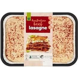 Woolworth Beef Lasagne 2kg