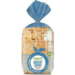 Macro Ancient Grain & Sprout Loaf Bread 450g