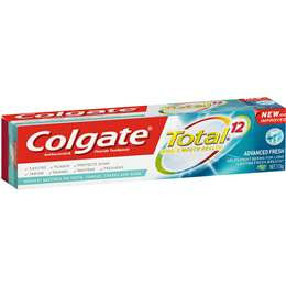 Colgate Total Advanced Fresh Fluoride Gel Toothpaste 115g