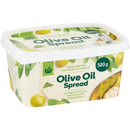 Woolworths Spread Olive Oil 500g