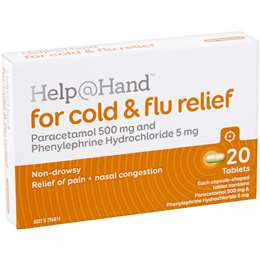 Help At Hand Cold & Flu Relief 20 pack