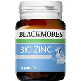 Blackmores Bio Zinc Skin Health Tablets 84 pack