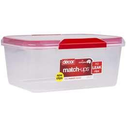Decor Match-ups Oblong Container 7l each