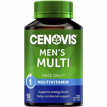 Cenovis Once Daily Men's Multi Capsules 50 pack