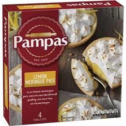 Pampas Lemon Meringue Pies 4 pack