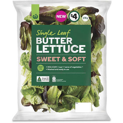 Woolworths Butter Lettuce 170g