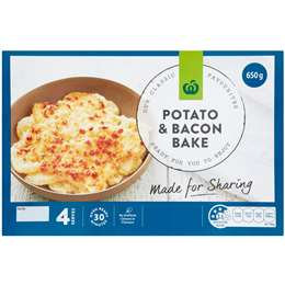 Woolworths Potato Bake Chilled Meal 650g
