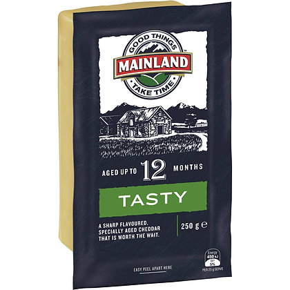 Mainland Tasty Cheddar Cheese 250g
