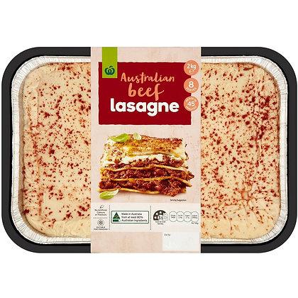 Woolworths Beef Lasagne 2kg